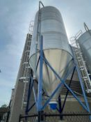 2013 Schuld/Bushnell 34.6 Ton Grain Silo, HP-60, 1730 Cubic ft, 10' x 18' Tank