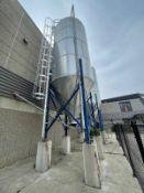 2013 Schuld/Bushnell 34.6 Ton Grain Silo, HP-60, 1730 Cubic ft, 10' x 18' Tank, S/N 6399