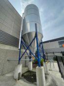 2013 Schuld/Bushnell 34.6 Ton Grain Silo, HP-60, 1730 Cubic ft, 10' x 18' Tank, S/N 7324