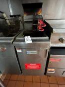 Empura 2 Basket Natural Gas Deep Fryer