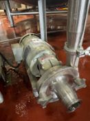 Fristam Diaphragm Transfer Pump, 2 HP Baldor Reliance