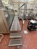 Stainless Steel Operator Platform, 2' x 15', 2-Steps   Rig Fee $350