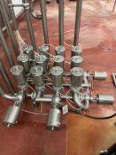 Stainless Steel Sanitary Air Valve Cluster - Subj to Bulk   Rig Fee $250