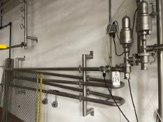 Stainless Steel Holding Tube, Includes two attached valves   Rig Fee $175