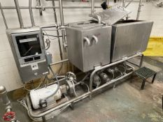 2-Tank CIP Skid, Anderson-Negele Chart Recorder, Heat Exchanger on Wall Included, A   Rig Fee $750