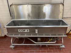 """Stainless Steel COP Tank, Approx. 30"""" x 9', Centrifugal Pump, includes Parts   Rig Fee $150"""