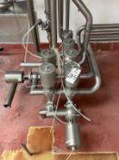 Stainless Steel Sanitary Air Valve Cluster - Subj to Bulk   Rig Fee $125