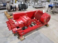 H&R Industries High Pressure Pump System, S/N 41800510, 75 HP
