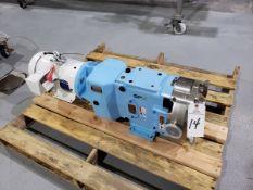 Waukesha Cherry-Burrell Positive Displacement Pump, M# 060 U1 R2, S/N 1000003855825, HP 5