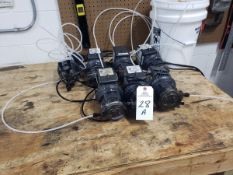 Lot of (7) Peristaltic Feeder Stenner Pumps, M# 85MHP5
