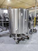 700 Gallon Stainless Steel Portable Tank