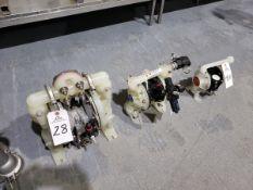 Lot of (3) Diaphragm Pumps