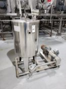 Unibloc Positive Displacement Pump Skid, W/ 75 Gallon Feed Tank, 3 HP