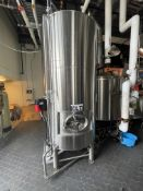 2016 Specific Mechanical 22.5 BBL Cold Liquor Tank, Glycol Jacketed, Approx 10ft x 5ft Dia
