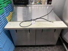 True Refrigeration Ingredient & Preparation Cooler, Approx 48in x 34in x 46in