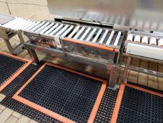 "Vibratory Roller Conveyor Section, 13"" X 4' | Rig Fee: $100"
