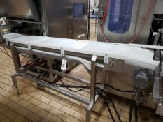 "Bandsaw Outfeed Conveyor, 12"" X 8' - Subj to Bulk | Rig Fee: $75"