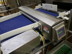 "Safeline Metal Detector, 2 3/4"" X 40"" Aperture, 2"" Above Conveyor, 38"" X 58"" Conv | Rig Fee: $950"