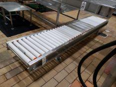 "Roller Conveyor Section, 20"" X 10' - Subj to Bulk | Rig Fee: $75"