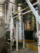 Fenix Process Carbon Steel Heat Exchanger, 145-Gal, 396mm W x 396mm L x 2770 H, 563 kg., Facility Ta