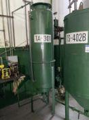 Palm Oil Stainless Steel Tank, 50-Gal, 1150mm W x 1150mm L x 1500mm H, 290 kg., Facility Tag: TA-301