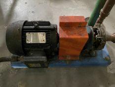 MP Pumps Model Chemflo 2 Pump, 5HP, 3500RPM, Facility Tag: BO-447