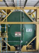 Isotanque Stainless Steel Horizontal Iso Tank, 6340-Gal. 6096mm W x 2438mm L x 2591mm H, 3600 kg., F