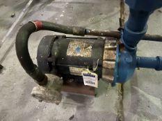 Goulds Model 1ST2D7D4 Pump, 0.75HP, 1750RPM, Facility Tag: BO-308