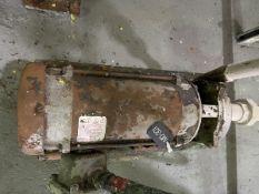 MTH Model T41-SS Pump, 3HP, 3450RPM, Facility Tag: MD-301