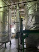 Ampla Carbon Steel Heat Exchanger, 15-Gal, 471mm W x 471mm L x 3912mm, 104 kg., Facility Tag: AQ-449