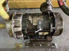 Goulds Model 1ST2D7D4 Pump, 0.75HP, 1750RPM, Facility Tag: BO-391