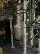 Fenix Process Stainless Steel Tank, 200-Gal, 800mm W x 800mm L x 1800mm H, 180 kg., Facility Tag: TM