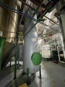 Palm Oil Carbon Steel Tank, 1320-Gal, 1220mm W x 1220mm L x 4280mm H, 1437 kg., Facility Tag: TG-441