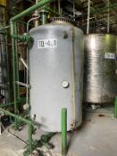 Palm Oil Carbon Steel Tank, 500-Gal, 1000mm W x 1000mm L x 1800mm H, 380 kg., Facility Tag: TQ-401