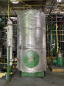 Alfering Carbon Steel Tank, 2500-Gal, 770mm W x 770mm x 1687mm H, 2200 kg., Facility Tag: TQ-302