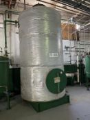 Alfering Stainless Steel Tank, 2500-Gal, 770mm W x 770mm x 1687mm H, 2200 kg., Facility Tag: TS-402A