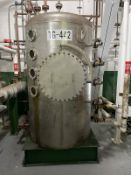 Ampla Stainless Steel Tank, 660-Gal, 1400mm W x 14000mm L x 2470mm H, 637 kg. , Facility Tag: TG-442