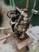 ARO Pump, 12RPM, Facility Tag: BO-442