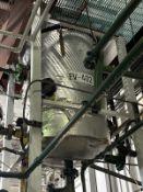 Fenix Process Carbon Steel Evaporator, 700-Gal, 1473mm W x 7264mm L x 1422mm H, 1400 kg., Facility T