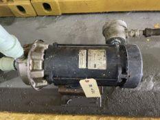Goulds Model G&L-NPE Pump, 3HP, 3500RPM, Facility Tag: BO-471