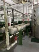 Ampla Stainless Steel Heat Exchanger, 90-Gal, 220mm W x 220mm L x 1500mm H, 1070 kg., Facility Tag: