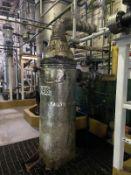 Fenix Process Carbon Steel Heat Exchanger, 254 Gal, 540mm W x 540mm L x 3806mm H, 1070 kg., Facility