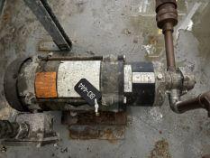 Goulds Model 1ST2D7D4 Pump, 0.75HP, 1750RPM, Facility Tag: BO-444