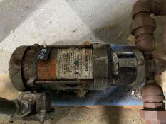 ARO Model PD05A_AAS_SAA_B Pump, 12RPM, Facility Tag: BO-442