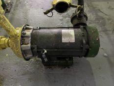 Goulds Model 1ST2H7D4 Pump, 3HP, 1750RPM, Facility Tag: BO-390