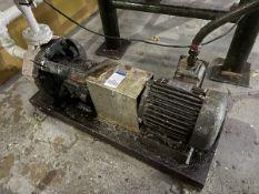 Flowserve Durco Model MK3 Pump, 2HP , Facility Tag: BO-437