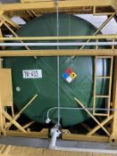 Isotanque Stainless Steel Horizontal Iso Tank, 6340-Gal. 6096mm W x 2438 L x 2591 H, 3600 kg., Facil
