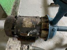 Goulds Model 1ST2D7D4 Pump, 0.75HP, 1750RPM, Facility Tag: BO-423