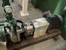Flowserve Durco Model MK3 Pump, 1.5HP, 60GPM, Facility Tag: BO-409