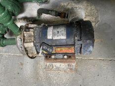 Goulds Model 1ST1EDD4 Pump, 1HP, 3500RPM, Facility Tag: BO-408